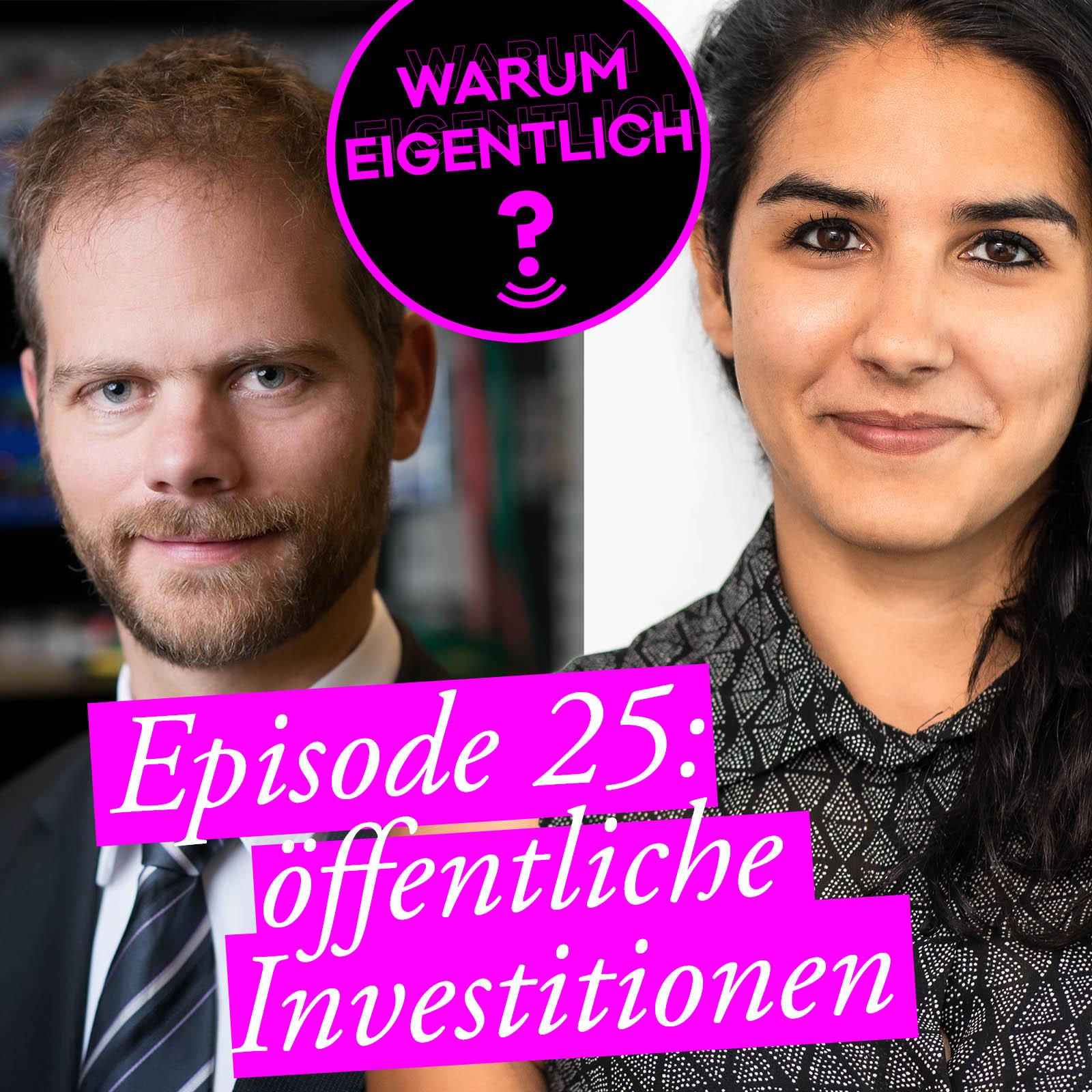 Warum eigentlich sind öffentliche Investitionen so wichtig für uns? Sara Hassen im Gespräch mit Klemens Himpele